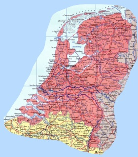 География Нидерландов