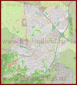 Подробная карта города Амерсфорт