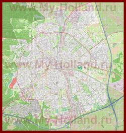 Подробная карта города Апелдорн
