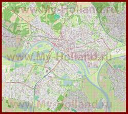 Подробная карта города Арнем