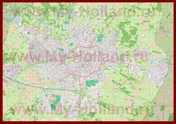 Подробная карта города Энсхеде
