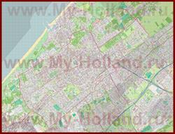 Подробная карта города Гаага