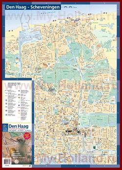 Туристическая карта Гааги