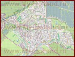 Подробная карта города Гауда