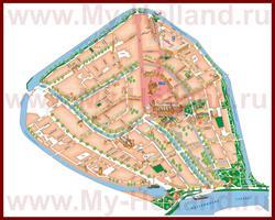 Туристическая карта Гауды