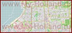 Подробная карта города Лелистад