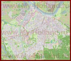 Подробная карта города Неймеген