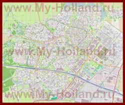 Подробная карта города Зутермер